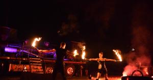 Feuershow Betriebsfeier, Firmenfest